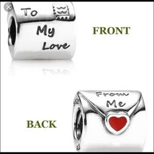 Love letter pandora charm